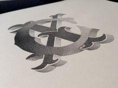 Lettrage et illustrations par Xavier Casalta - Journal du Design