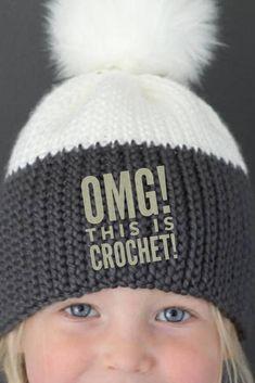 Crochet Pattern - Kingsley  Knit Look  Crochet Hat by Lakeside Loops  (includes Baby 7a256d58be29