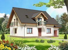 Home Fashion, House Plans, Cabin, Mansions, House Styles, Home Decor, Small Condo, Floors, Haus
