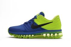 Nike Air Max 2017 Blue Green Men Shoes
