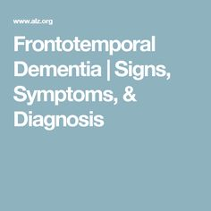 Frontotemporal dementia / Pick's disease – learn about symptoms, diagnosis, causes, risks and treatments and key differences between FTD and Alzheimer's. Signs Of Dementia, Alzheimer's And Dementia, Bile Duct, Alzheimers, Disorders, Health Fitness, Gallstone, Brain, Amp