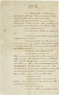 DOYLE, SIR ARTHUR CONAN. 1859-1930. Autograph Manuscript, a single leaf from The Hound of the Baskervilles, 1 p, 4to, n.p., c.1902,