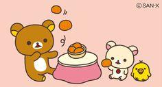 #Rilakkuma juggling fun *\(^o^)/*