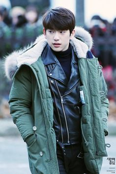 #Jr. #GOT7 - ugh!! I keep saying I don't like to save off-the-clock real life pics because I'd like them to have some privacy at least, but then Jinyoung keeps looking like this and I end up conflicted...