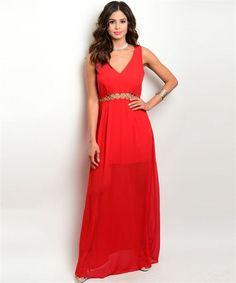 Center Line Maxi Dress (2 Colors)