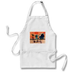 Fiestaware and the Kitchen Sink Aprons