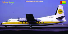 Presidential Aircraft of the Guinea Bissau
