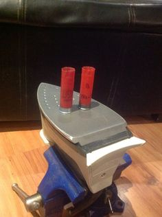 How to remove the brass from spent shotgun shells.