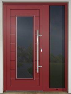GAVA 465 RAL 3011 vstupné dvere Door Handles, Windows, Doors, Mirror, Furniture, Home Decor, Ideas, Door Knobs, Decoration Home