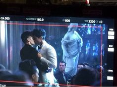 Malec Kiss // Shadowhunters Behind the scenes // Matthew Daddario // Harry Shum Jr // Alec Lightwood // Magnus Bane // Season 1 Episode 12 // 1x12 #Malec #Shadowhunters
