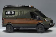 Pinned for the neat woodworking ideas - Camping / Wohnmobil - Vehículos Ford Transit Conversion, Sprinter Van Conversion, Camper Van Conversion Diy, Sprinter Camper, 4x4 Camper Van, Auto Camping, Van Camping, Ford Transit Campervan, Neat Woodworking Ideas