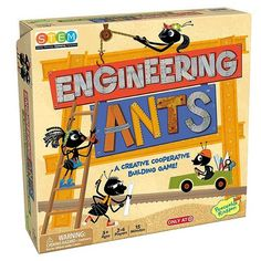 Cooperative game where you have to build things Engineering ants
