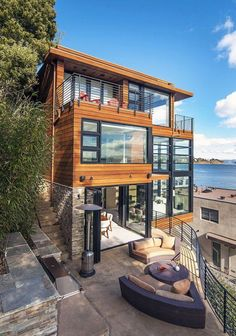 """Luxury Homes Interior Dream Houses Exterior Most Expensive Mansions Plans Modern 👉 Get Your FREE Guide """"The Best Ways To Make Money Online"""" Architecture Design, Amazing Architecture, Contemporary Architecture, Contemporary Building, Chalet Modern, Future House, My House, Cliff House, Casas Containers"""