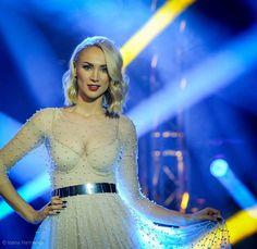 Ramona Nerra wearing LOULOU  the brand @ Finala Eurovision Romania