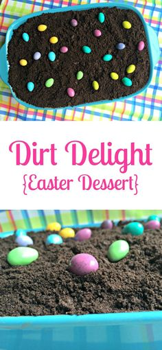 Angel food cake and cherries make this heavenly Angel Easter Dessert a holiday favorite. Easter Dirt Cake Recipe, Dirt Recipe, Dirt Cake Recipes, Easter Recipes, Holiday Recipes, Holiday Ideas, Holiday Foods, Easy Dirt Dessert Recipe, Easter Cake