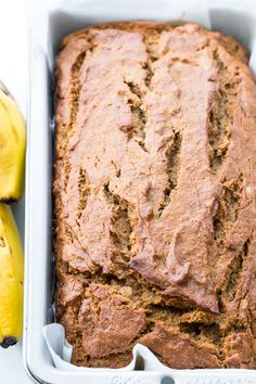 Paleo Banana Bread with Cassava Flour