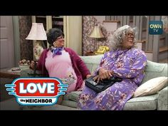 Linda wants to handle Philip her own way. Although Madea and Hattie seemingly agree to stay out of it, Linda suspects they'll go after Philip the minute she . Madea Humor, Moves App, Comedy Clips, Oprah Winfrey Network, Love Thy Neighbor, Tyler Perry, Finding Joy, Old Movies, Movies Showing