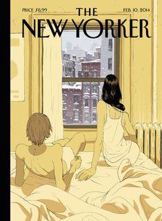Il New Yorker è una delle riviste preferite dalla redazione del Post: metà dei redattori ha un abbonamento, l'altra metà glielo scrocca. Dentro ogni mese ci sono delle storie bellissime e scritte straordinariamente, fuori ci sono delle copertine fantastiche che