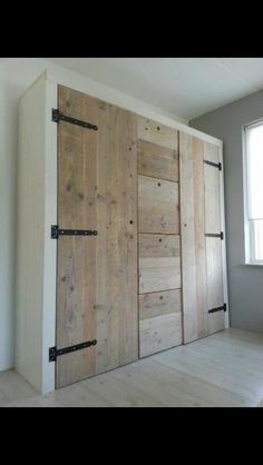 This is interesting: closet or storage, I like the drawers in the middle.   Country or contempory. CC