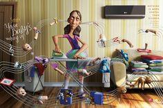 #ads me gusta el arte y la historia contada con pequeñas 3D jajaja buenisima... LG Split Libero: Notes