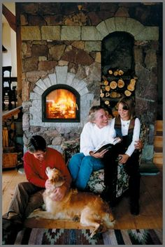 Masonry Heater Planning Guide PDF ---- Temp-Cast masonry heaters, masonry stoves and masonry heaters with bake ovens  (kit with pizza oven is around $5k, can DIY, or pay $2k for installation)