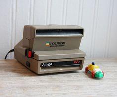 Vintage Polaroid Land Camera Amigo 620 gift for him by MollyFinds, $20.00 #vintage #camera #polaroid