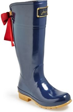 Joules 'Evedon' Rain Boot (Women) available at #Nordstrom