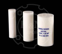RESINA ACETAL  Nombres Comerciales ERTALYTE - NITACETAL - DELRIN  PRESENTACIÓN • BARRAS: Longitud: 1.00 mt / Diámetro: 6mm a 250 mm