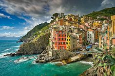 Clouds Over Riomaggiore | Riomaggiore (Rimazùu in the local … | Flickr