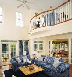 Great Room of The Arbordale - House Plan Number 452