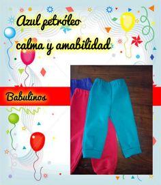 Pantalones de friza #Babulinos