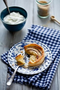 pear and almond tarts