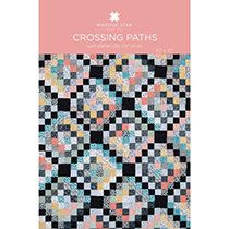 Crossing Paths Quilt; MSQC video very helpful; would make block a bit smaller for baby quilt