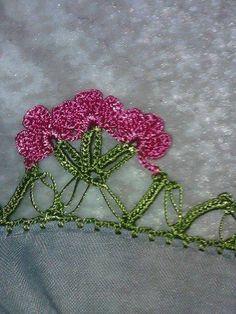 2016 en yenı yazma oyası modellleri  (3) Hand Embroidery, Ale, Floral, Flowers, Flower Fabric, Tejidos, Lace, Projects, Knitting And Crocheting