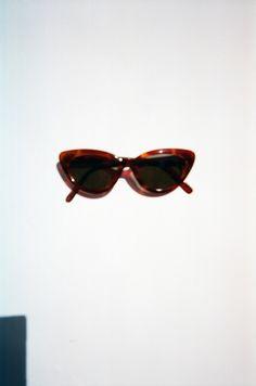 VINTAGE | Greta - Brown Tort/ Green