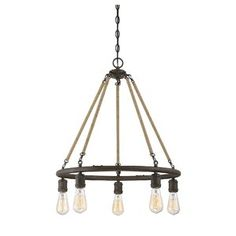 Anette 5-Light Candle Chandelier