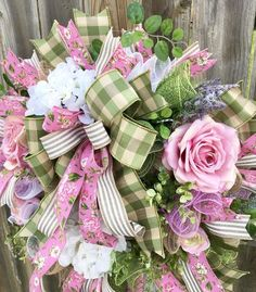10 Quick And Inexpensive Ways To Brighten Your Home For Spring! Pink Wreath, Tulle Wreath, Grapevine Wreath, Burlap Wreath, Easter Wreaths, Holiday Wreaths, Holiday Decor, Deco Mesh Wreaths, Floral Wreaths