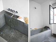 Look We Love: Concrete in the Bathroom