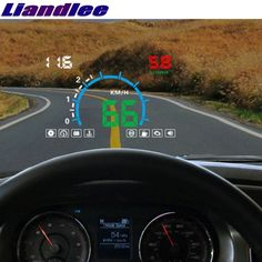 Buy Liandlee HUD For KIA Carnival Ceed Carens Rondo Borrego Mohave Monitor Speed Projector Windshield Vehicle Head Up Head Up Display, Heads Up, Audi A1, Car Insurance, Brand Names, Monitor, Carnival, Vehicles, Carnavals