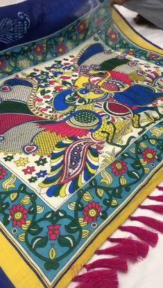 Silk Sarees With Price, Kalamkari Saree, Stylish Sarees, Printed Sarees, Ethnic Fashion, Telugu, Blouse Designs, I Shop, Prints