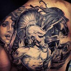 Afbeeldingsresultaat voor spartan tattoo