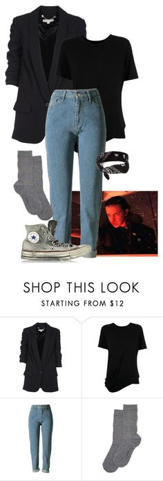 """Punk Eleven -Stranger Things 2"" by nikki-m-f ❤ liked on Polyvore featuring Michael Kors, Uma 
