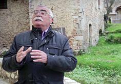 Rasiglia, fonti del Menotre. A Foligno (PG), Umbria, Italy. Durante l'intervista con Silvio Antonini.