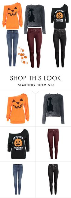 """""""Bez tytułu #728"""" by dodka529 on Polyvore featuring moda, Marc Jacobs, 7 For All Mankind i H&M"""