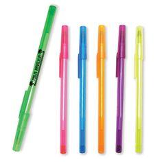 Promotional Translucent Stick Pen