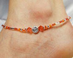 Anklet Ankle Bracelet Skyblue Anklet Southwestern Anklet