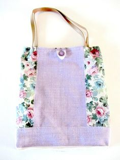 Borsa tracolla stile #floreale di MateriaEcoGioielli su it.dawanda.com