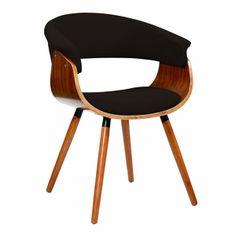 Vintage Mod Chair Walnut/Espresso by Lumisource