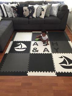 My softtiles rug