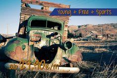 Van Truck Wrack in der Wüste